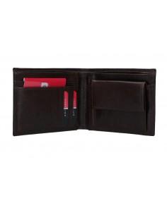 Portafogli maschile con portacarte e portamonete