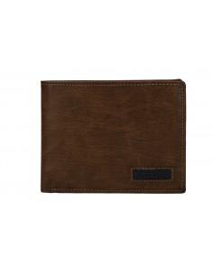 Portafoglio uomo - con portamonete e patta