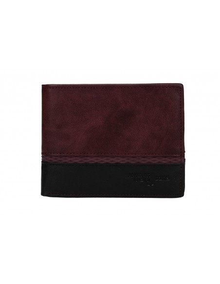 Portafoglio uomo - con portamonete e patta 8806_PSB30