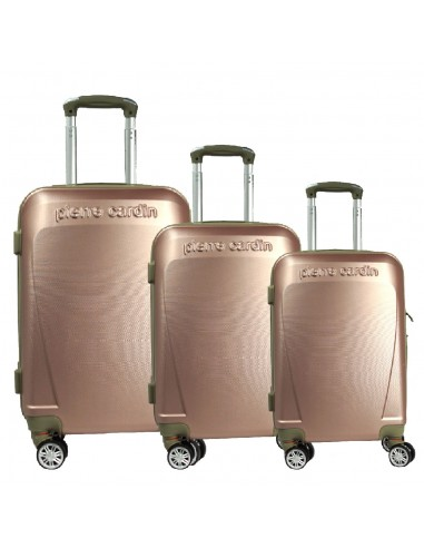 "TROLLEY SET 3PCS ""PIERRE CARDIN"" RUIAN10_1256"