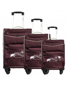 "TROLLEY SET 3 PCS ""PIERRE CARDIN"" DAVID01_6908"