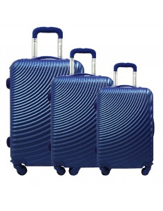"SET TROLLEY 3 PCS ""PIERRE CARDIN"" RUIAN11_8077"