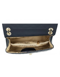 Borsa donna baguette trapuntata PIERRE CARDIN pelle Made in Italy