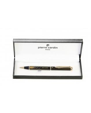 Penna elegante nera e oro...