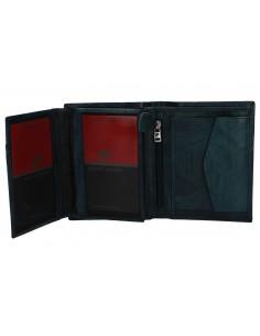 Portafoglio uomo verticale - in pelle con portamonete 326_TILAK12
